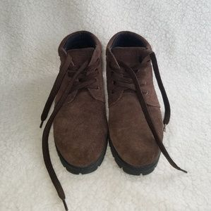Lands' End Shoes - Lands End Suede Winter Ankle Boots